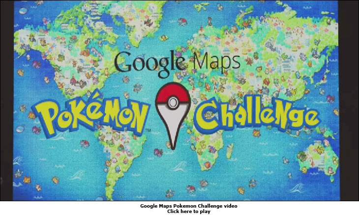 Google Maps Pokemon Challenge video
