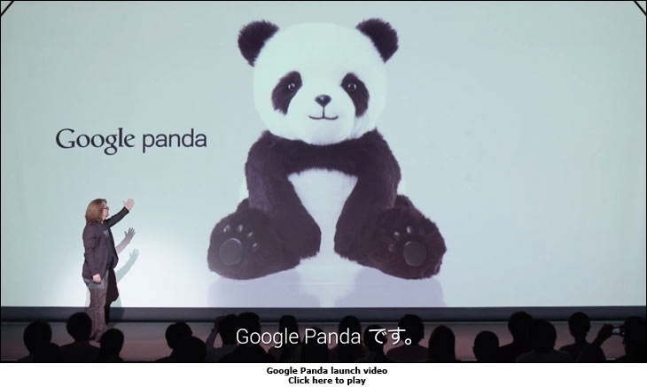 Google Panda launch video