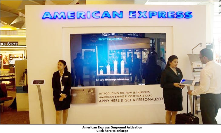 American Express Onground Activation