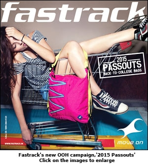 Fastrack's new OOH campaign,'2015 Passouts'
