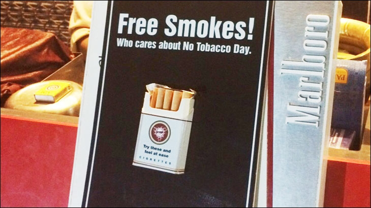 Kinetic India's experiential campaign on World No Tobacco Day