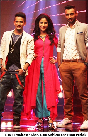 L to R: Mudassar Khan, Gaiti Siddiqui and Punit Pathak