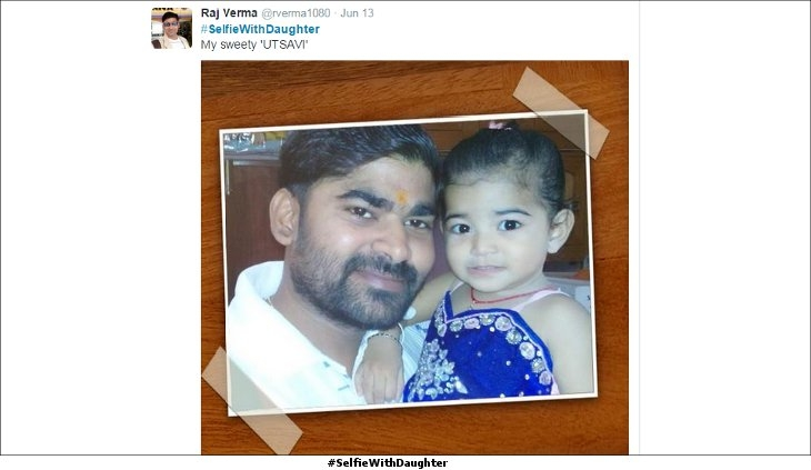 #SelfieWith Daughter