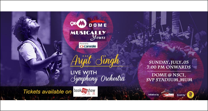 9XM Dome Musically Yours Arijit Singh Live with Symphony Orchestra