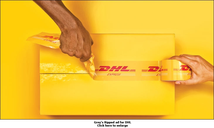 DHL Express Courier Services campaign