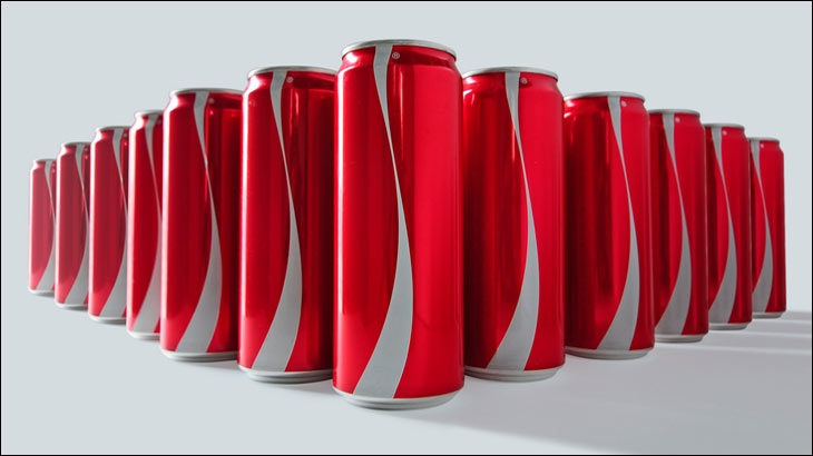 Coca-Cola's Ramadan special product packaging without logo