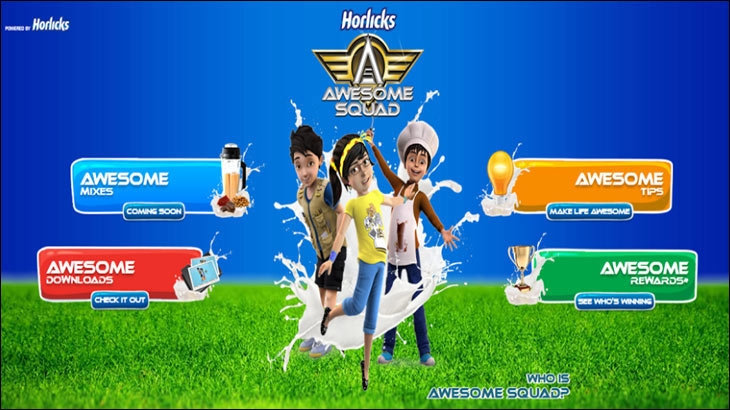 Horlicks Awesome Squad