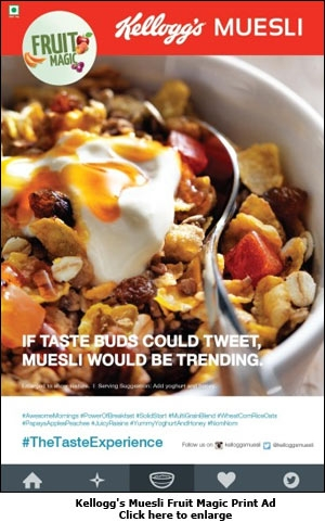 Kellogg's Muesli Fruit Magic Print Ad