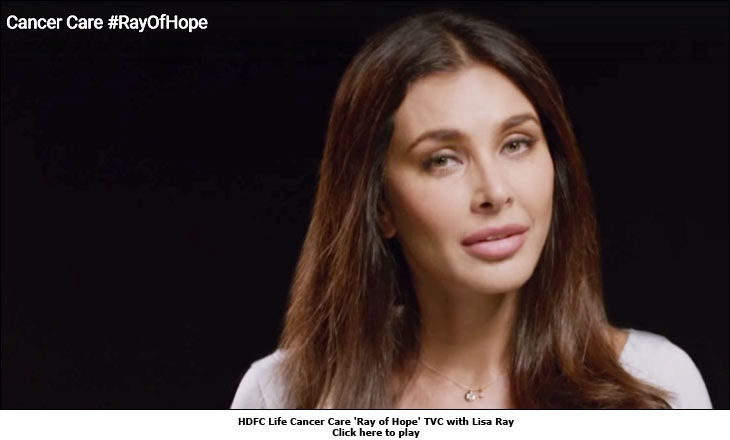 HDFC Life Cancer Care 'Ray of Hope' TVC with Lisa Ray