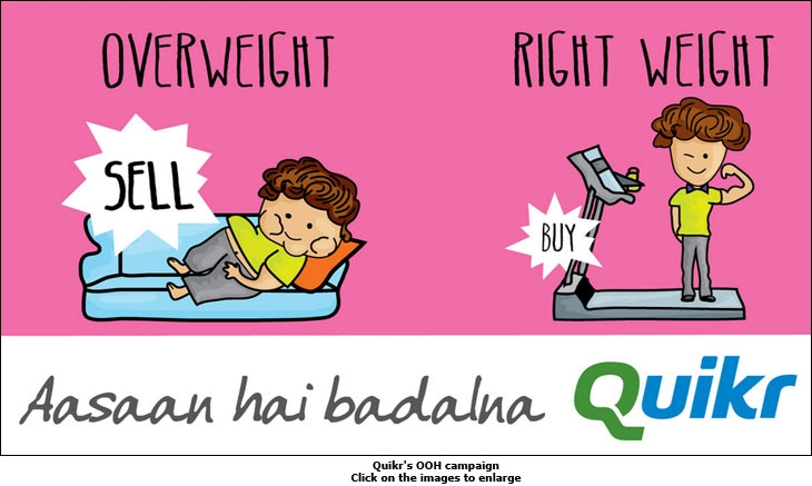Quikr's OOH campaign
