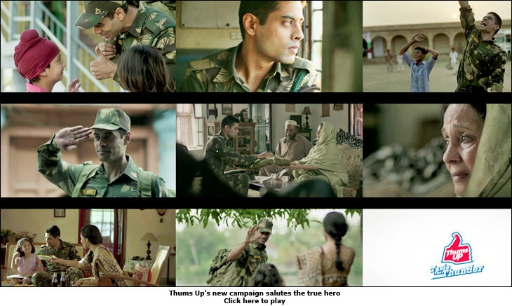 Thums Up's new campaign salutes the true hero
