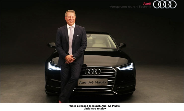 Video released to launch Audi A6 Matrix
