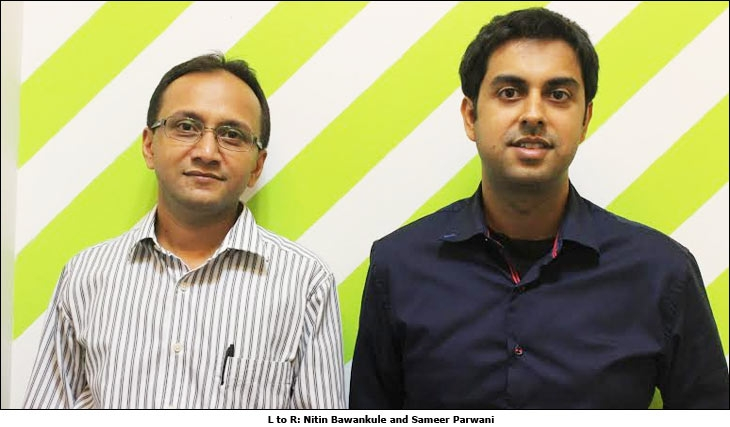 L to R: Nitin Bawankule and Sameer Parwani