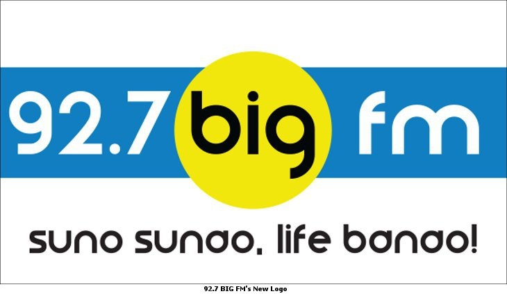 92 7 big fm undergoes brand revamp  dons new logo