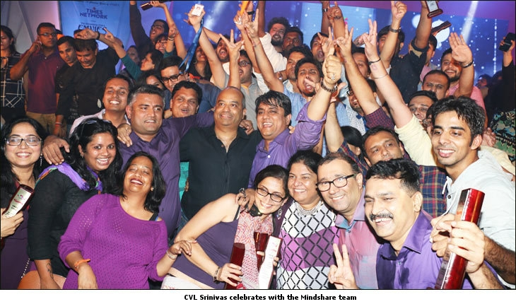 Mindshare's CVL Srinivas takes his agency to a striking victory