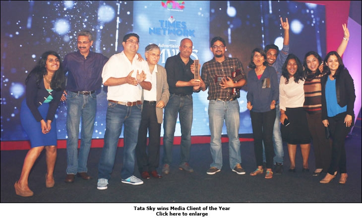 Tata Sky wins Media Client of the Year