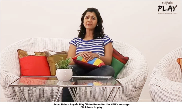 Asian Paints Royale Play 'Make Room for the NEU' campaign