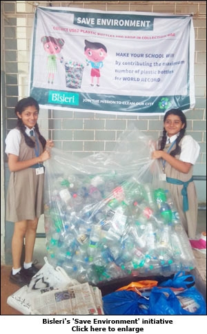 Bisleri's 'Save Environment' initiative