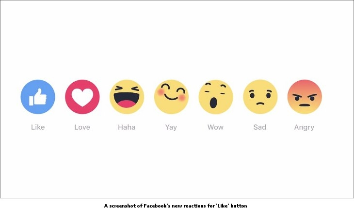 'Reactions' emoticons
