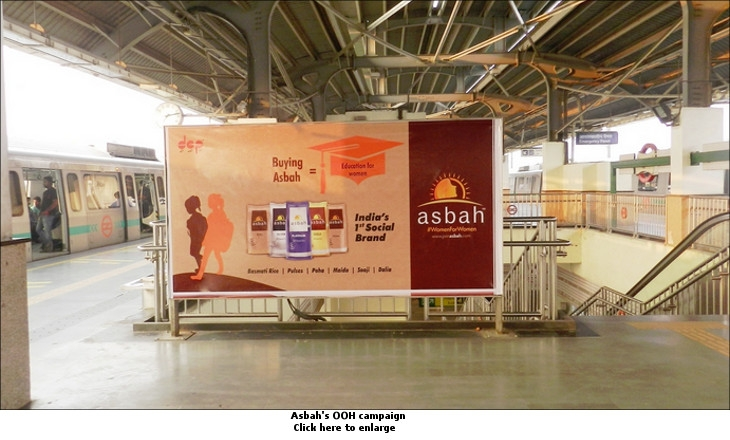 Asbah's OOH campaign