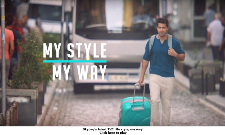 Skybag's latest TVC 'My style, my way'