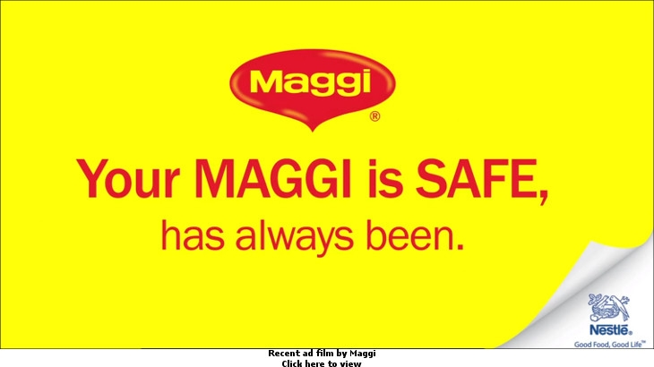 Recent ad film by Maggi
