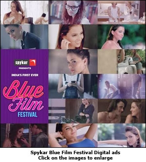 Spykar Blue Film Festival Digital ad
