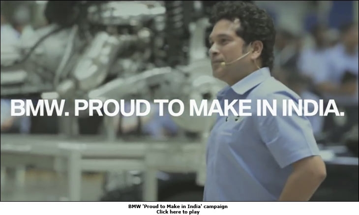 BMW 'Proud to Make in India' campaign