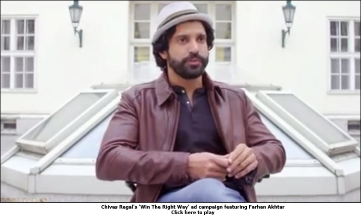 Chivas Regal's 'Win The Right Way' ad campaign featuring Farhan Akhtar
