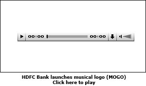 HDFC Bank launches musical logo (MOGO)