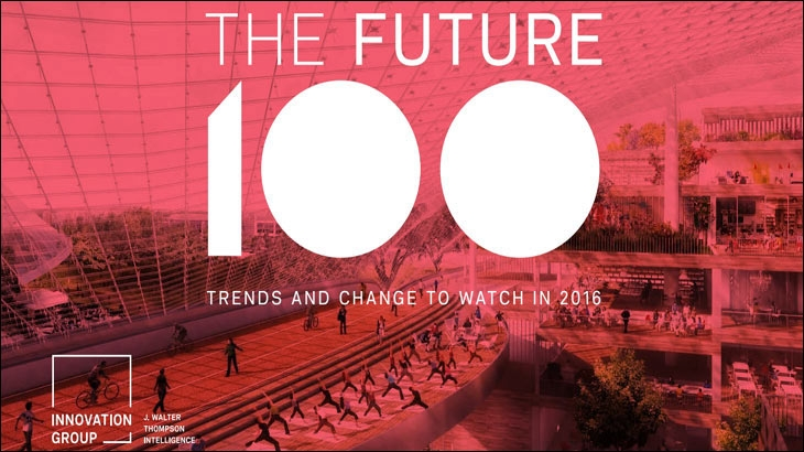 Future 100: Trends and Changes to Watch in 2016