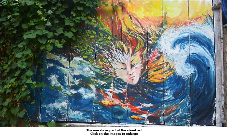 A Mural created by Asian Paints