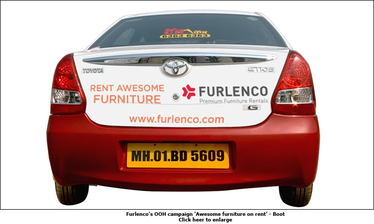 Furlenco rides on mumbai 39 s tab cabs Home furniture on rent in navi mumbai