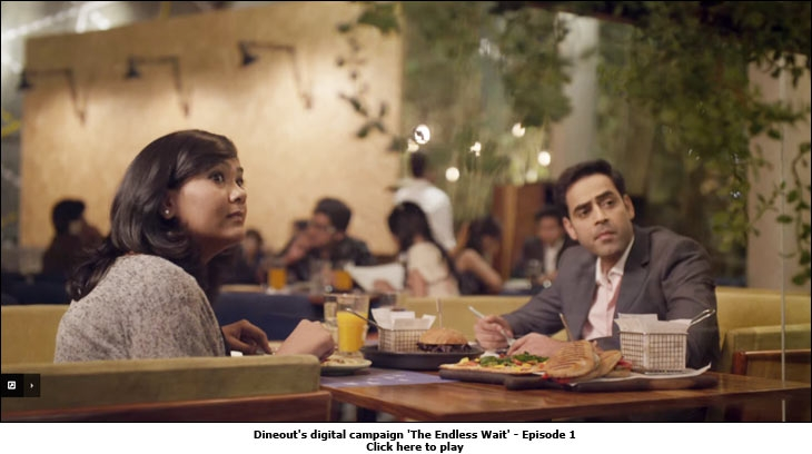 Dineout's digital campaign 'The Endless Wait'