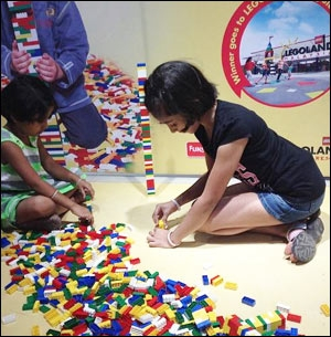 Lego's multi-city activation