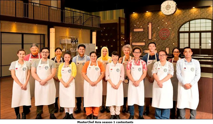MasterChef Asia season 1 contestants
