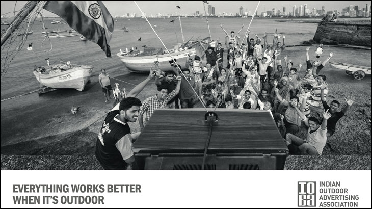 'Everything Works Better When It's Outdoor' campaign