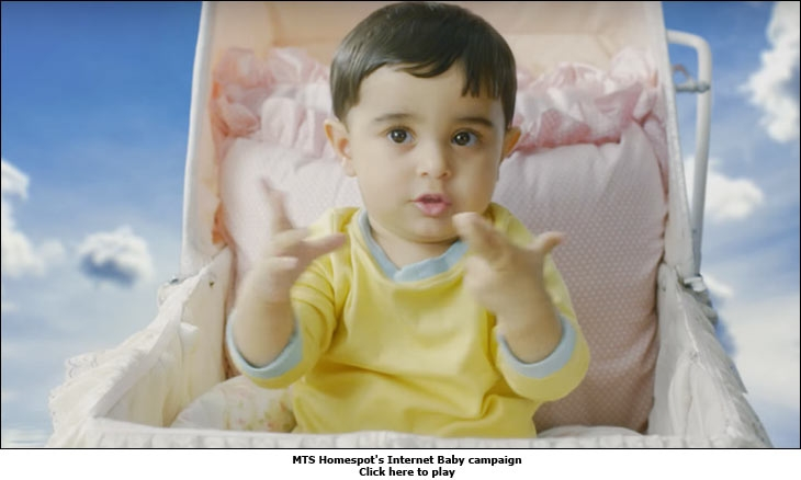 MTS Homespot's Internet Baby campaign
