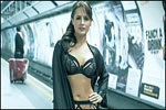 Viral Now Models in lingerie raid the subway