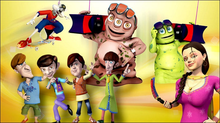 These Animated Characters Are Our Sub Brands Pawan Jailkhani 9x Media On Bade Chote