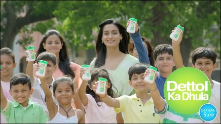 Dettol Squeezy is more economical than a sachet RB India