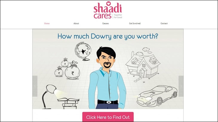 Dowry Calculator is a new way of looking at an old problem Aditya Save chief marketing officer Shaadicom