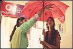 Vodafone M-Pesa empowers women with self-defence umbrellas