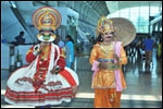 Kerala Tourism celebrates Onam at Thiruvananthapuram airport