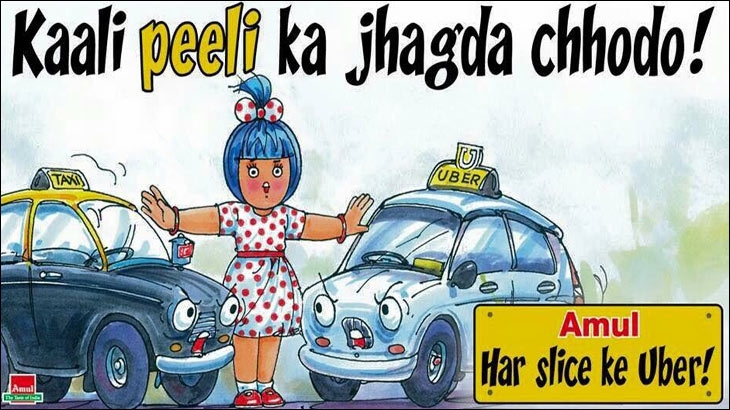 Amul gives Uber a lift