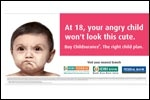 IDBI ropes in angry babies to make a point