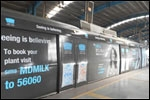Mother Dairy goes on a ride on Delhi Metro