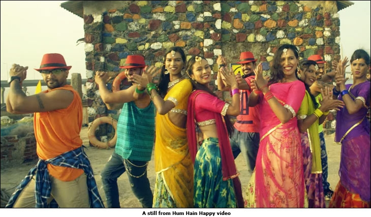 A still from Hum Hain Happy video
