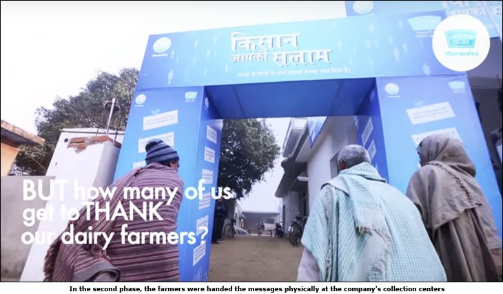 Mother Dairy's 'Tweet to Farmer' campaign