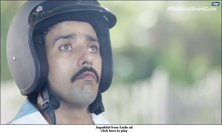 Jugadulal from Exide ad